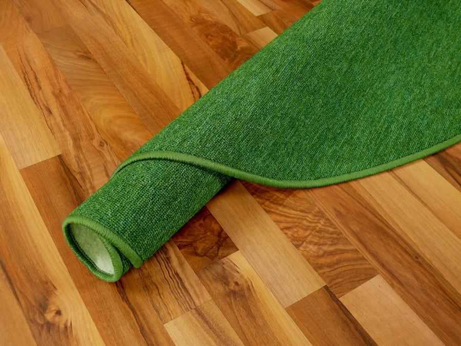 feinschlingen velour teppich strong gr n rund in 7 gr en teppiche schlingenteppiche. Black Bedroom Furniture Sets. Home Design Ideas