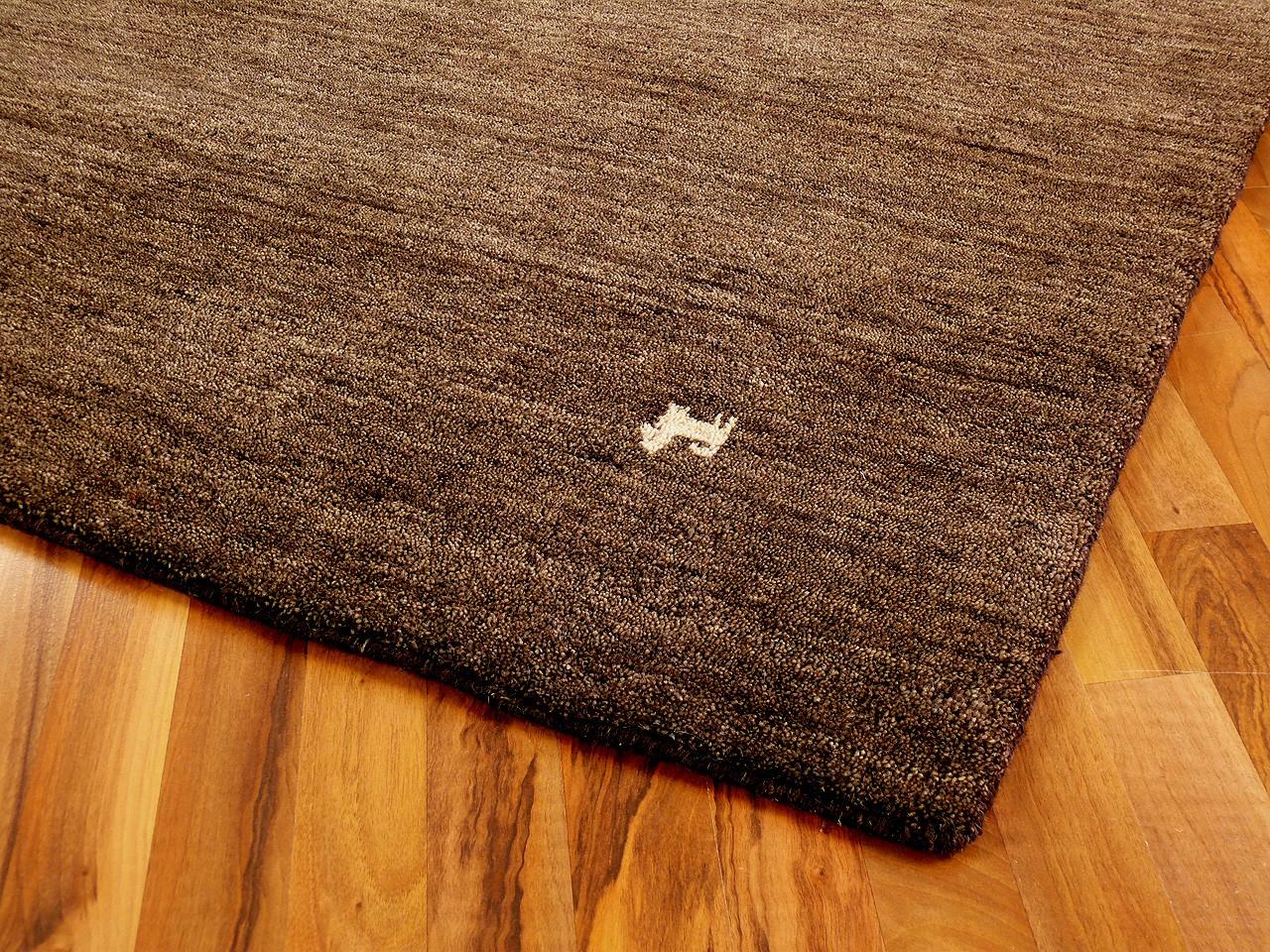 indo gabbeh teppich shiva braun uni teppiche nepal gabbeh und kelim teppiche indo gabbeh teppiche. Black Bedroom Furniture Sets. Home Design Ideas