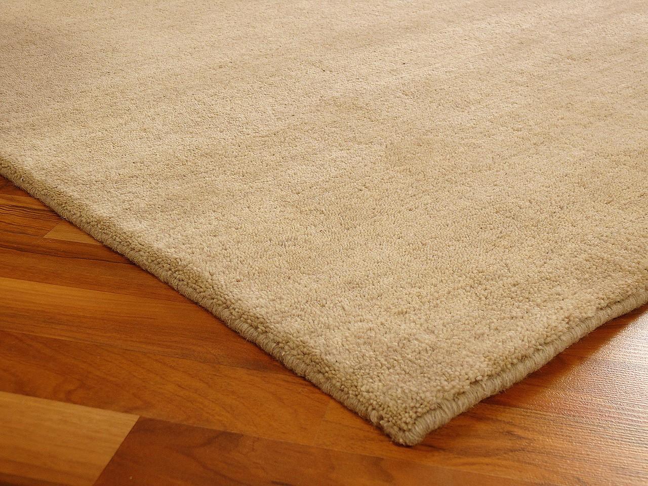 indo gabbeh teppich shiva beige uni teppiche nepal gabbeh. Black Bedroom Furniture Sets. Home Design Ideas
