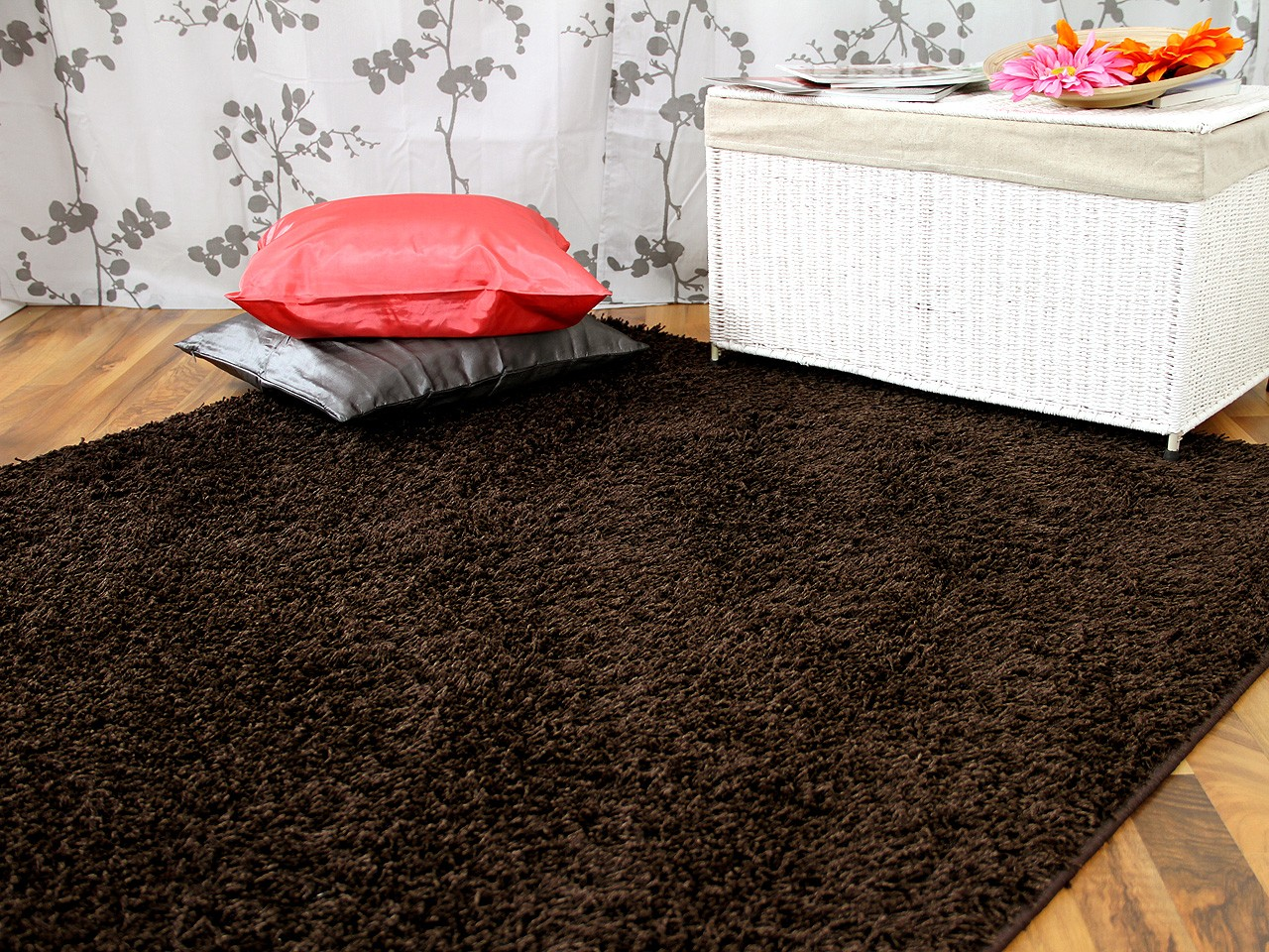 hochflor langflor teppich shaggy nova braun sonderaktion sonderposten hochflor langflor. Black Bedroom Furniture Sets. Home Design Ideas