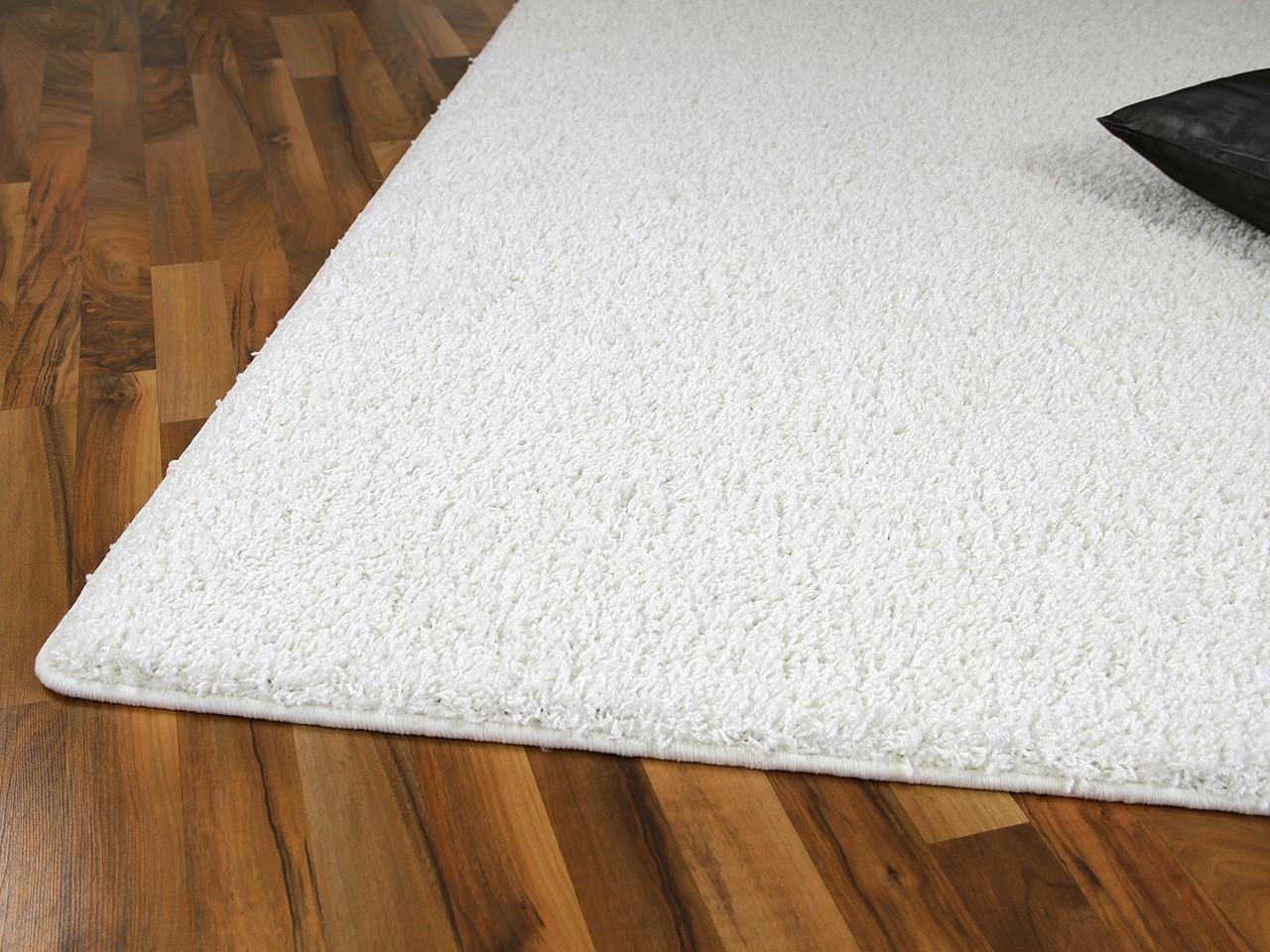 teppich hochflor shaggy premio weiss abverkauf teppiche hochflor langflor teppiche wei creme. Black Bedroom Furniture Sets. Home Design Ideas