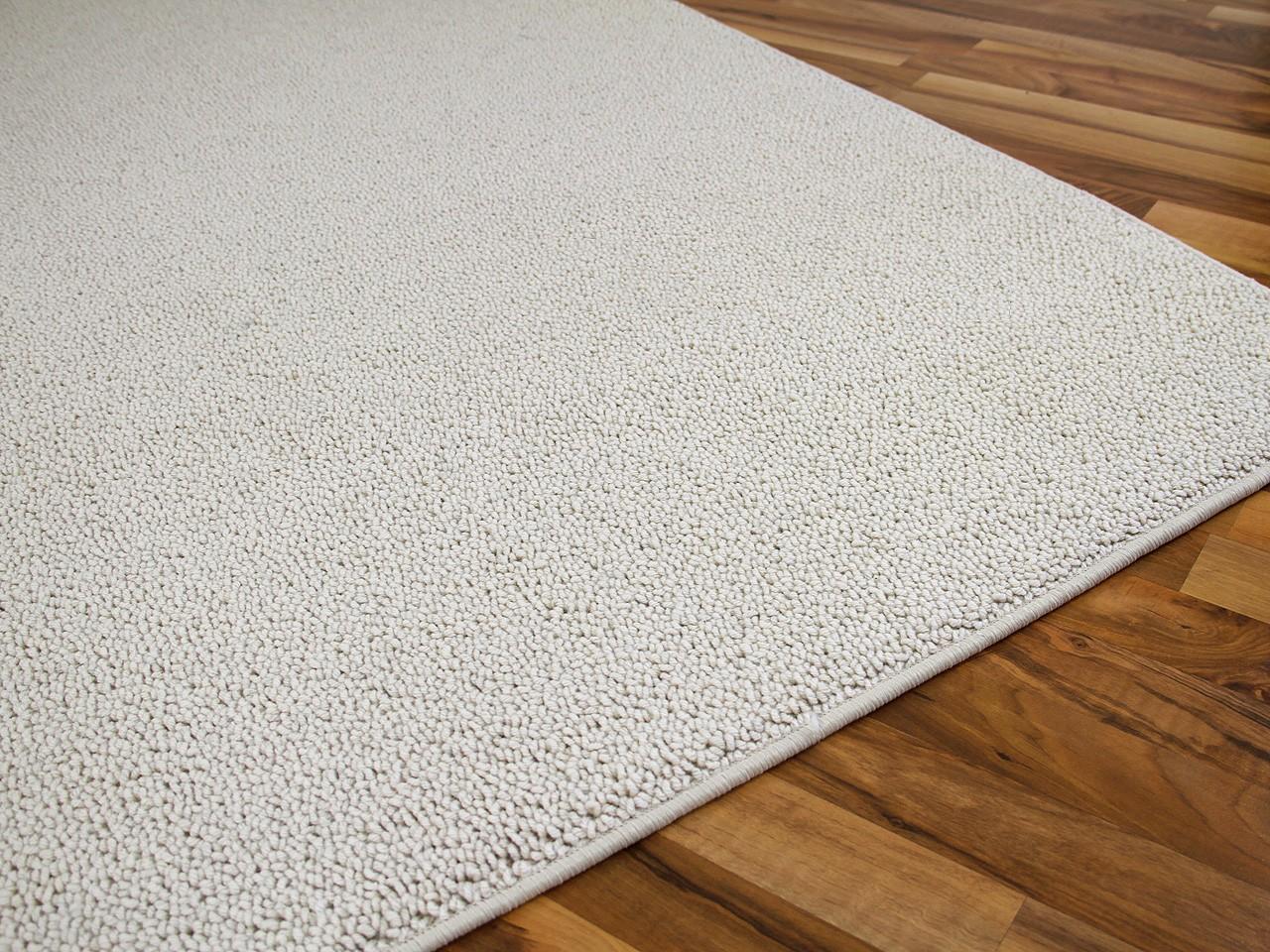 Natur Teppich Luxus Berber Venice Wollweiss  ABVERKAUF