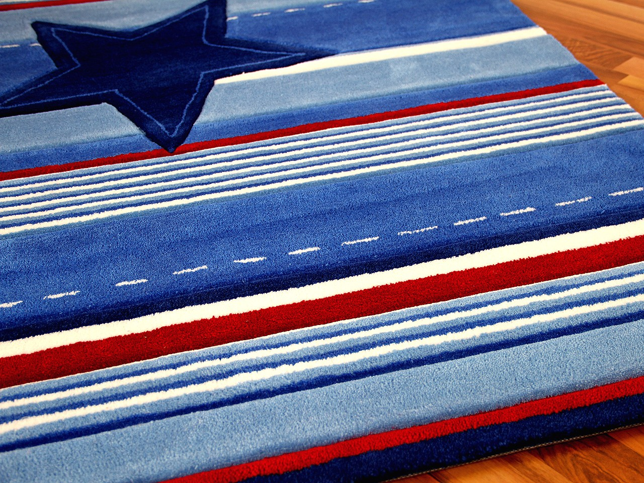 Kinderteppich hellblau sterne  Kinderteppich Dunkelblau | harzite.com