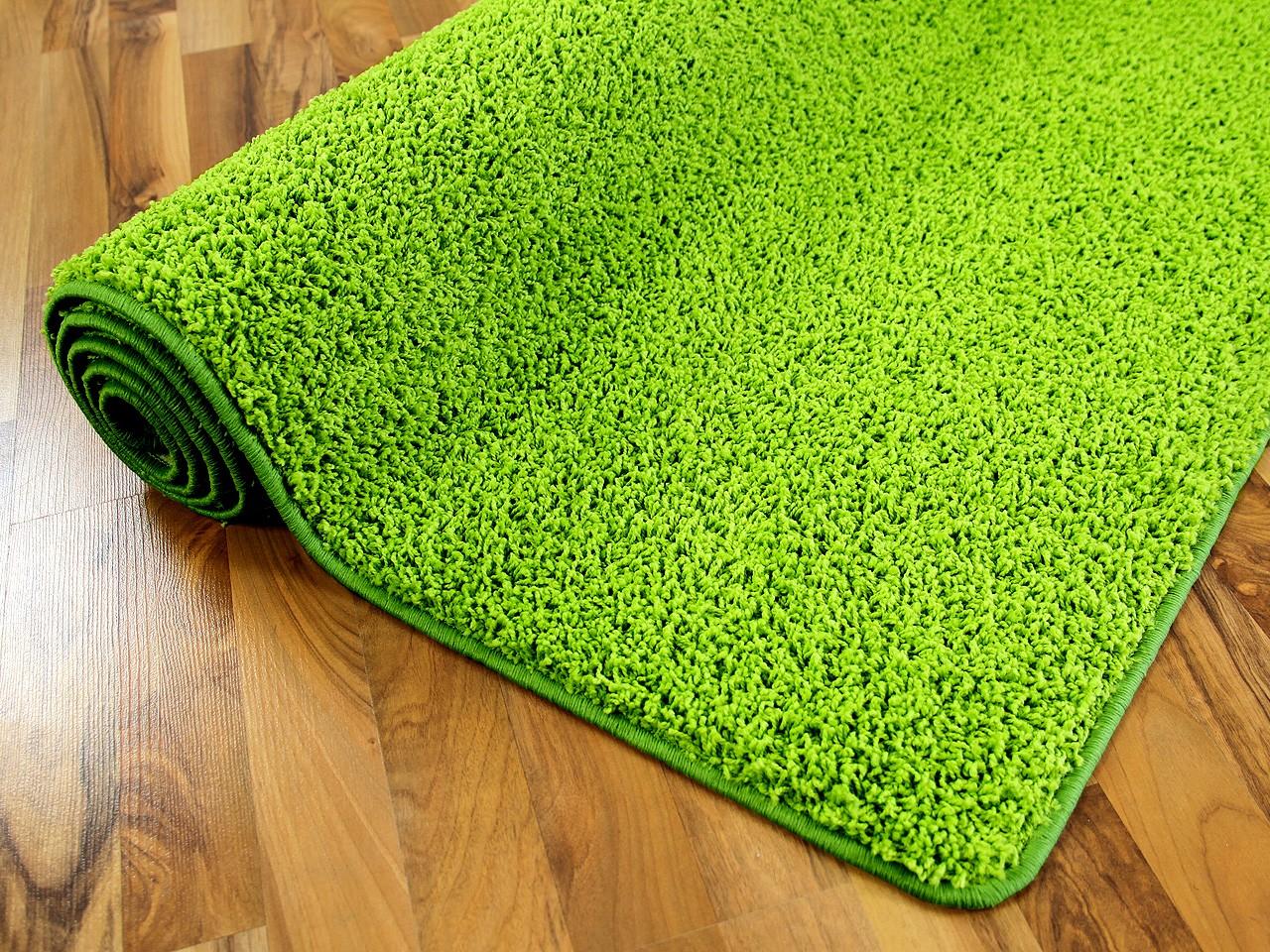 hochflor shaggy teppich prestige lindgr n in 24 gr en teppiche hochflor langflor teppiche gr n. Black Bedroom Furniture Sets. Home Design Ideas