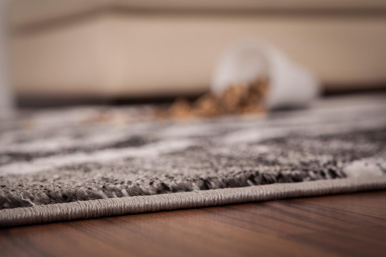 Teppich Elegance Neo Grau Classic  ABVERKAUF Teppiche
