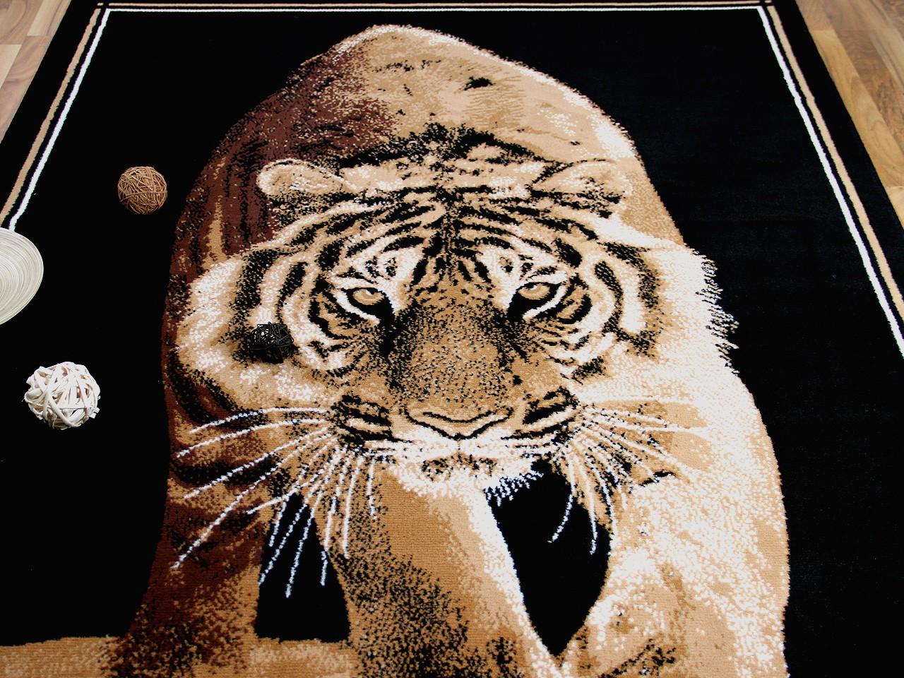 Teppich Trendline Tiger in 4 Größen Teppiche