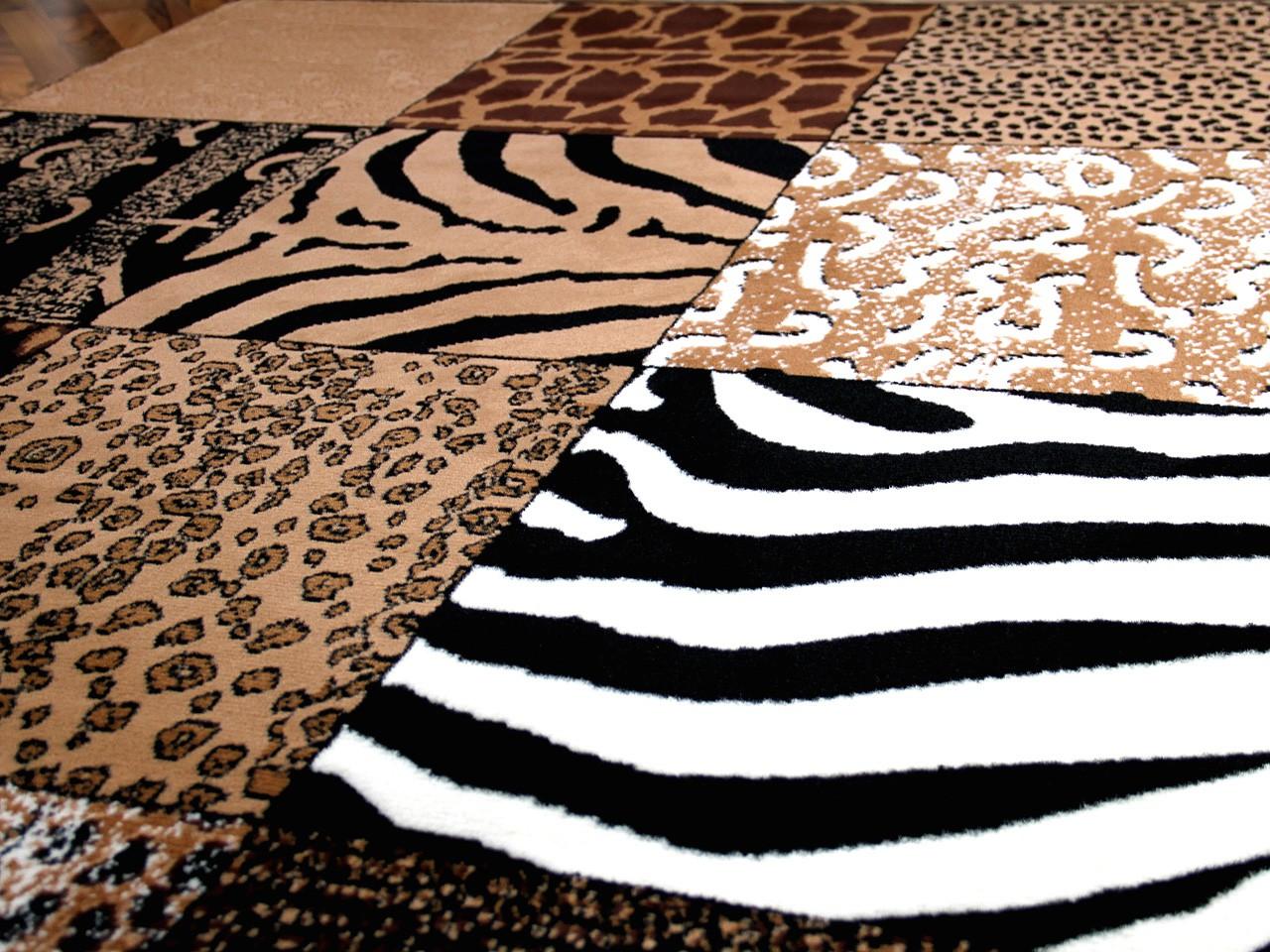Teppich Trendline Afrika Patchwork in 4 Größen Teppiche