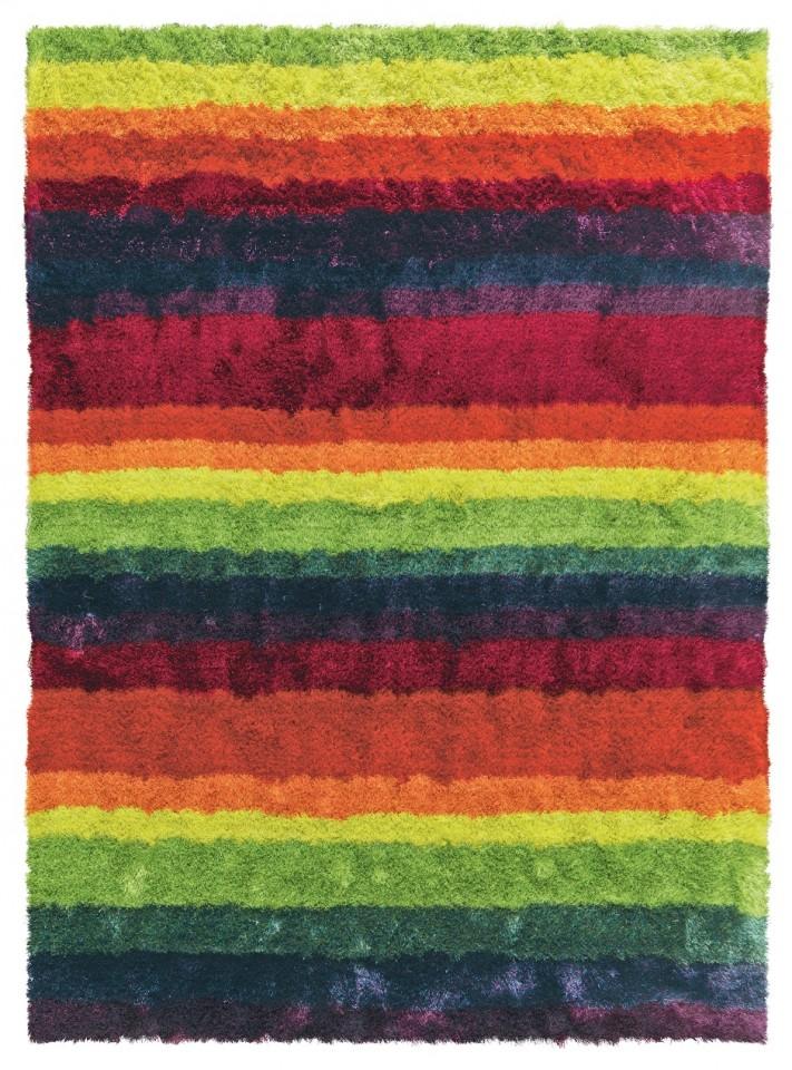 Arte Espina Teppich Funky Streifen Bunt Teppiche