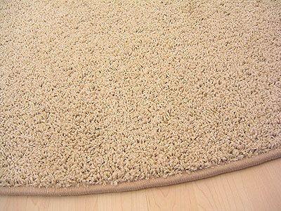 teppich hochflor shaggy cottage beige rund in 7 gr en teppiche hochflor langflor teppiche wei. Black Bedroom Furniture Sets. Home Design Ideas