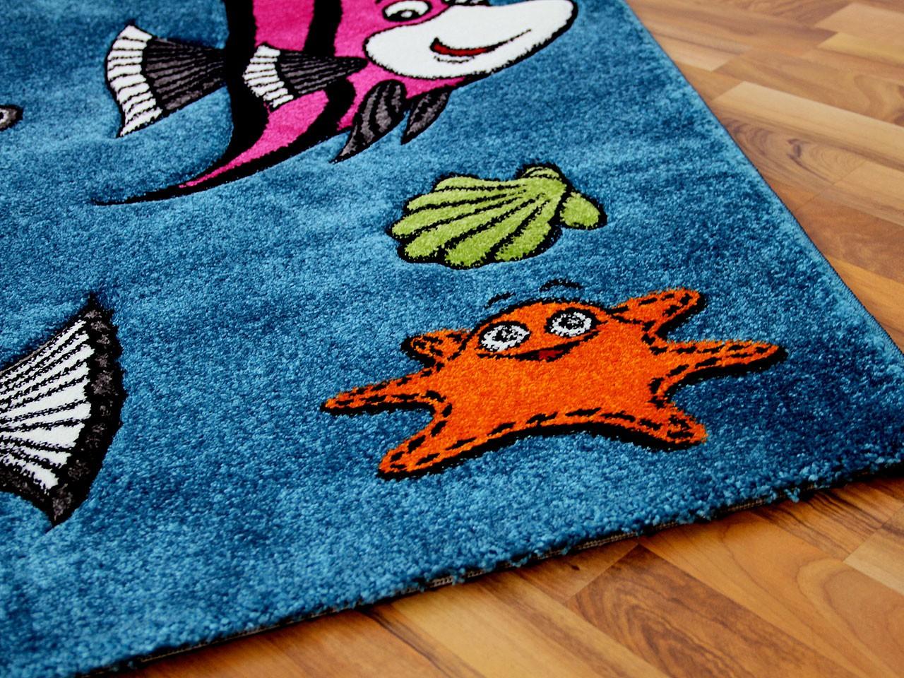 Kinder Teppich Maui Kids Fische Teppiche Kinder und