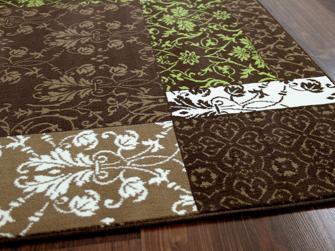 Designer Teppich Passion Braun Gr 252 N Patchwork Teppiche