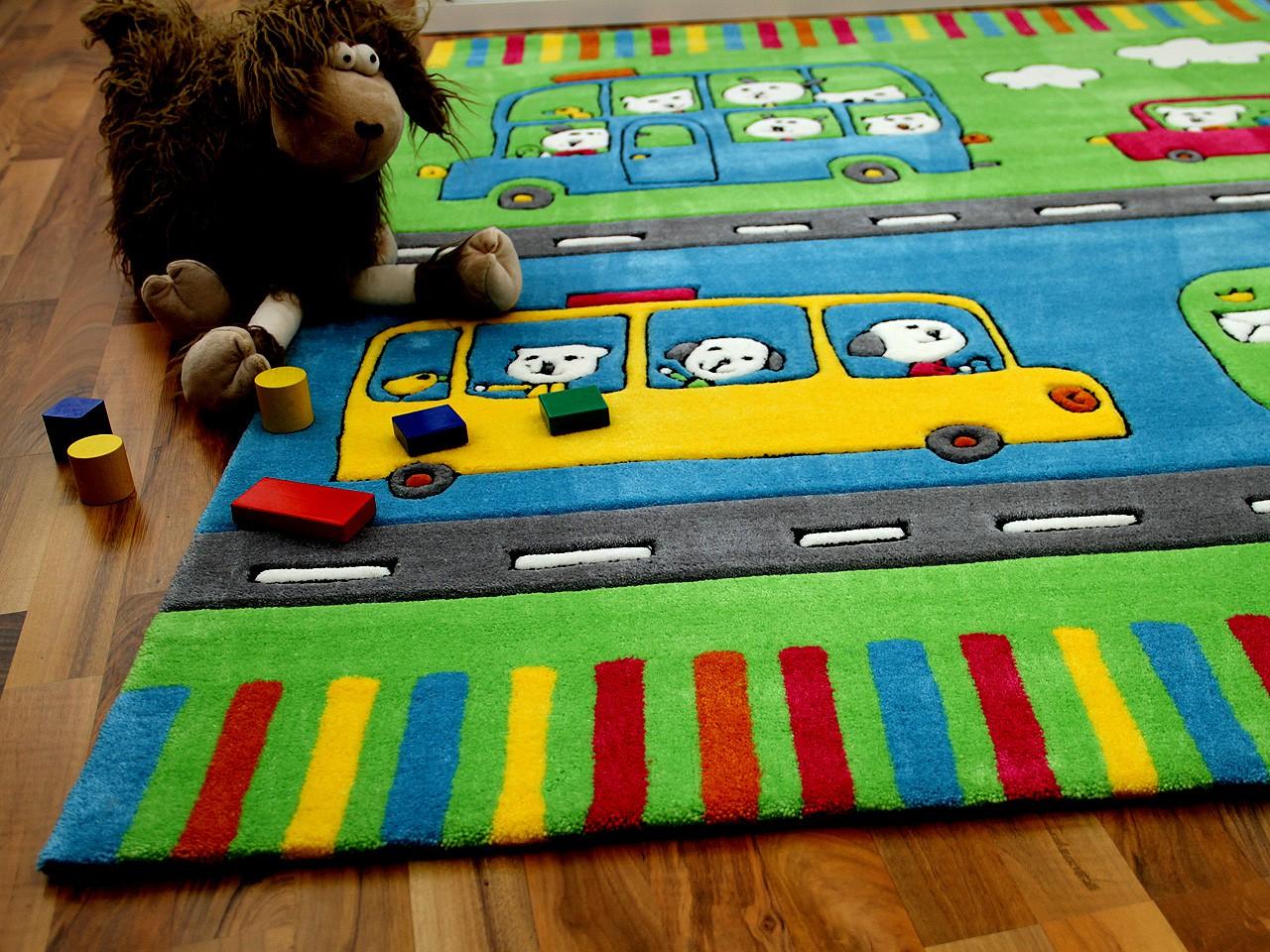 Lifestyle Kinderteppich Omnibus  ABVERKAUF Teppiche