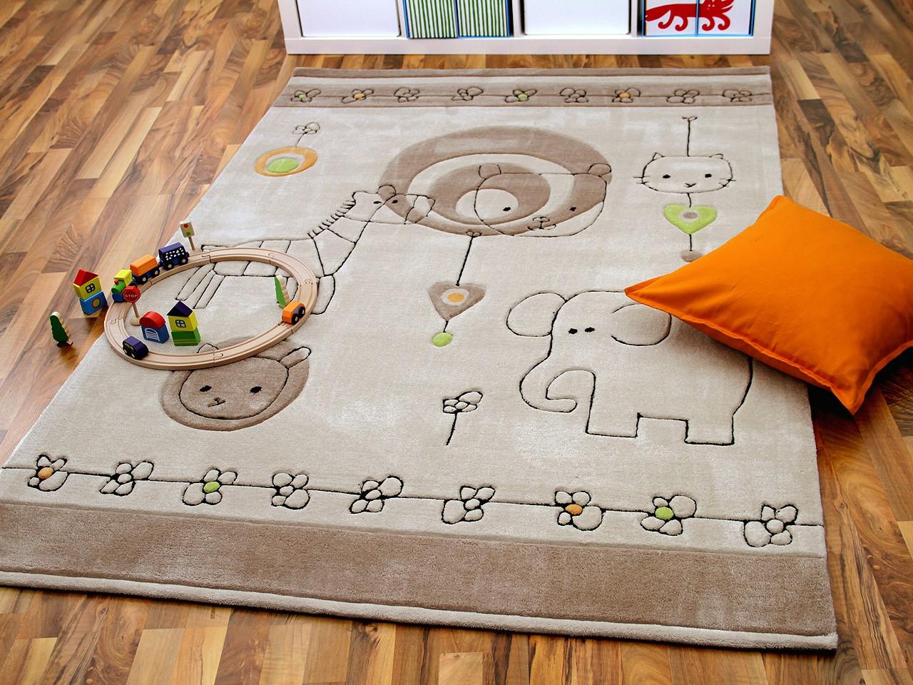 Delightful Schnes Zuhausekinder Teppich Beige Gelb Kinderteppiche 26 Kinder,  Wohnzimmer Design Amazing Design