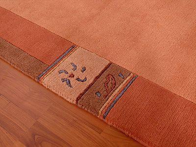 indo nepal teppich urbana terrakotta teppiche nepal gabbeh und kelim teppiche hochwertige nepal. Black Bedroom Furniture Sets. Home Design Ideas