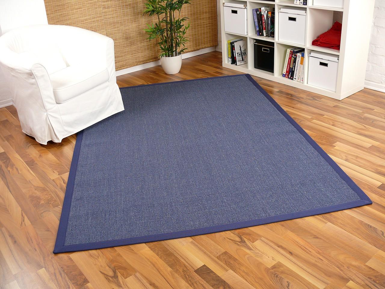sisal astra natur teppich blau bord re blau teppiche sisal und naturteppiche sisal teppiche mit. Black Bedroom Furniture Sets. Home Design Ideas