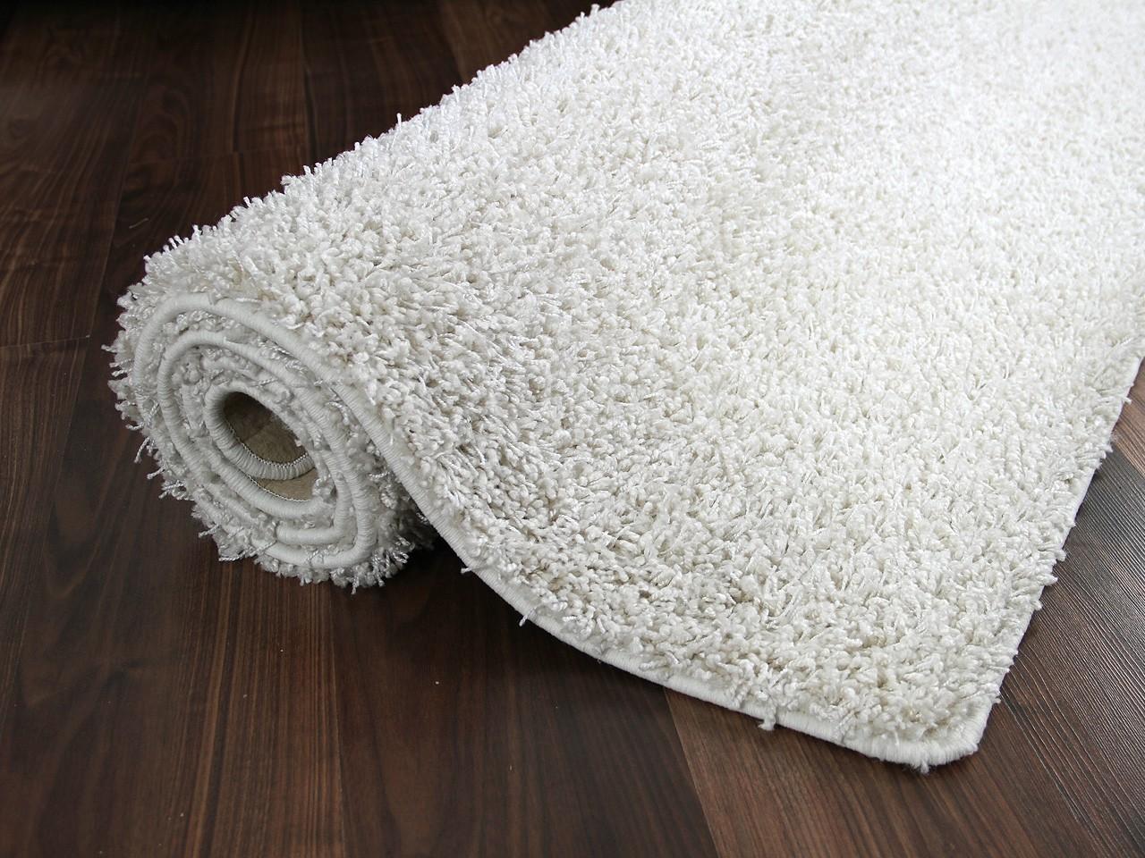 hochflor shaggy teppich dream wei abverkauf teppiche. Black Bedroom Furniture Sets. Home Design Ideas